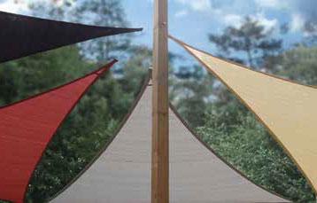 Driehoekige schaduwdoeken - Sungfighters